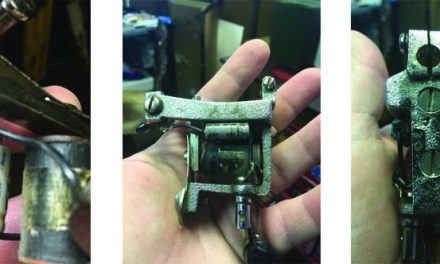 "Milton Zeis Tattoo Machine: Do you know who Stamped a ""W"" in the Frames?"